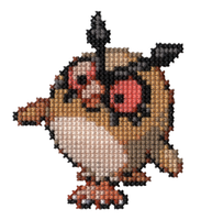 163 - Hoothoot by Devi-Tiger