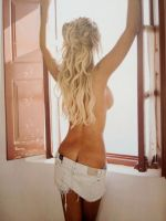 Blond temptation 4 by AndreaTeddy