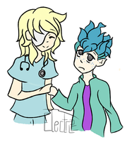 Dr Myles Holland and Tyler by o0-ElectricDreams-0o