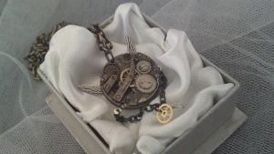 Steampunk Jewellery by Karla-Chan