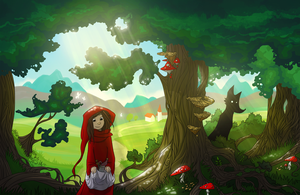 Little Red Riding Hood by nutty-acorn