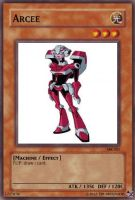 Arcee Yugioh card by Tim1995