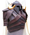 Leather Armor and Helm by random-soul