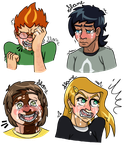 Crying practice ft. four kids by FireBird963