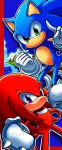 sonic and knuckles by chicaramirez
