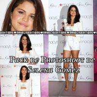 pack de photoshoot de Selena Gomez by NayelisEditions