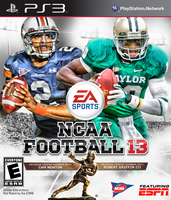 NCAA Football 13 PS3 Cam and Robert by MattBizzle2k10