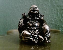 little budha by priesteres-stock