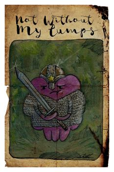 Not Without My Lumps by AmberStoneArt