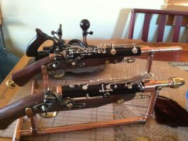 Flintlocks, the Brace by jimdavidson3