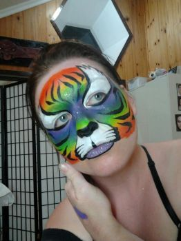 Rainbow Tiger by faceswithatwist