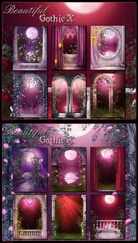 Beautiful Gothic 10 Romance by cosmosue