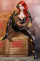 Black Widow by voltesfibz