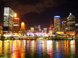 Skyline of Brisbane, Australia by Lord007