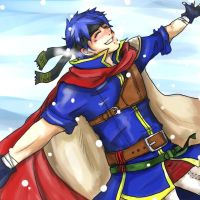 FE: Ike and the Snow by EmbahMabok