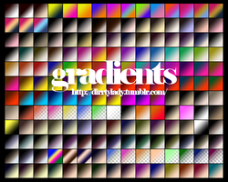 GRADIENTS 2 dirrtylady by dirrtylady