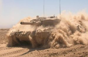 Leopard 2 A4 Chile by arcangelpipin