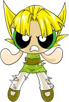 Super Saiyan Buttercup by gneferu