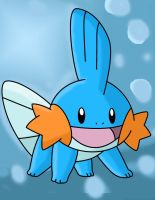 A mudkip smiling by Mast88