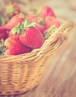 Strawberry Basket by Sarah-BK