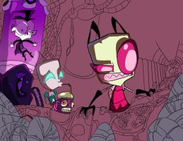 W.I.P 2-Spam by Invader--ZIM