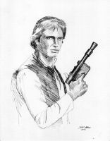 Han Solo by Stungeon