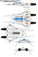 buck rogers  Thunder Fighter mark V by bagera3005