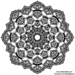 Little Flowers Mandala #1 by WelshPixie
