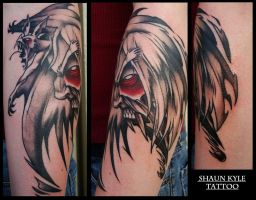 vampire tattoo by Shaun-Kyle