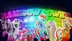 Mane 6 Rainbow Power by Macgrubor