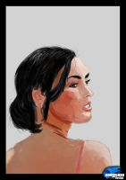 Megan Fox - Speed Paint by cometa93