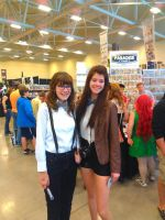 NF Comicon : Two Fem Doctor's by TheWarRises
