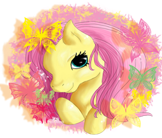 Fluttershy Wreath by Puffleduck