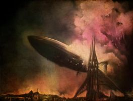 my Hindenburg by alexkerrart