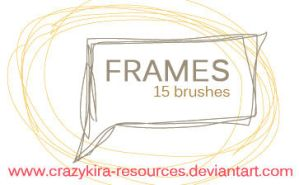 Frames by crazykira-resources