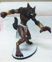 Tribal Werewolf Model (Side) by TheMrWolf