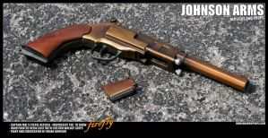 Captain Mal Reynold's Pistol Replica - Firefly by JohnsonArms