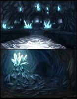 Moon Crystal Caves by LeSoldatMort