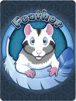 FeatheredCritter Badge Commission - Feather by Crazdude