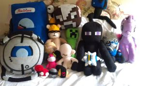 My Plushie Collection! by Belle43