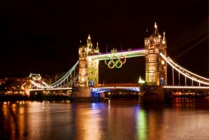 London, England's Tower Bridge 4 the Olympics Pt 1 by RichardNohs