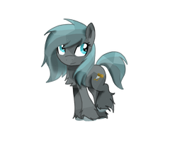 Ploughfield as a Crystal pony by ArtyBeat