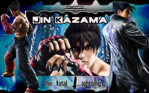 Jin Kazama, the fatal lightning by ScionChibi