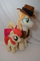 Apple Bloom and Braeburn by makeshiftwings30