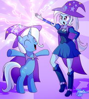 The Great and Powerful Trixie by Riouku