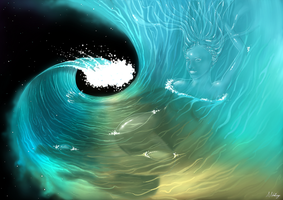Cosmic Wave by schellings