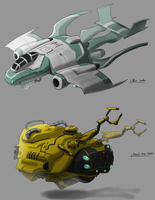 Vehicle concepts by yezzzsir