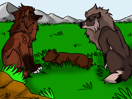 .: We make a great team   Bear Hunt :. by Dunkin-Prime