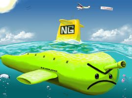 The Newgrounds Submarine by xric