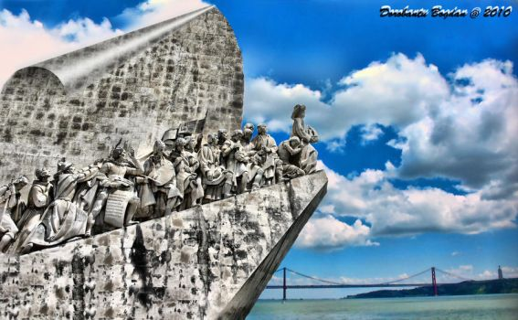 Monument to the Discoveries by BonoArt